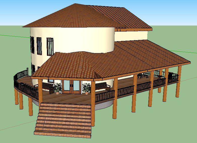 Natural cob houses closer to nature houz buzz Cobb house plans