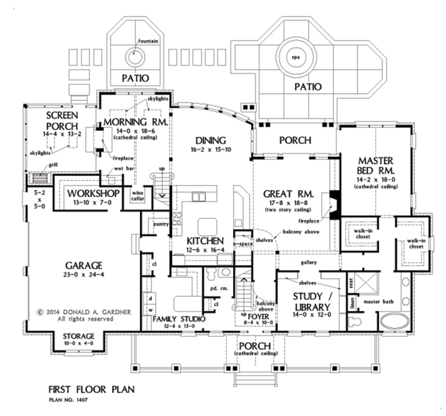 case rustice din caramida Rustic brick house plans 6