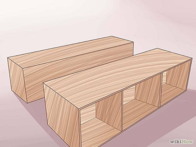 How to build a wood frame bed at home