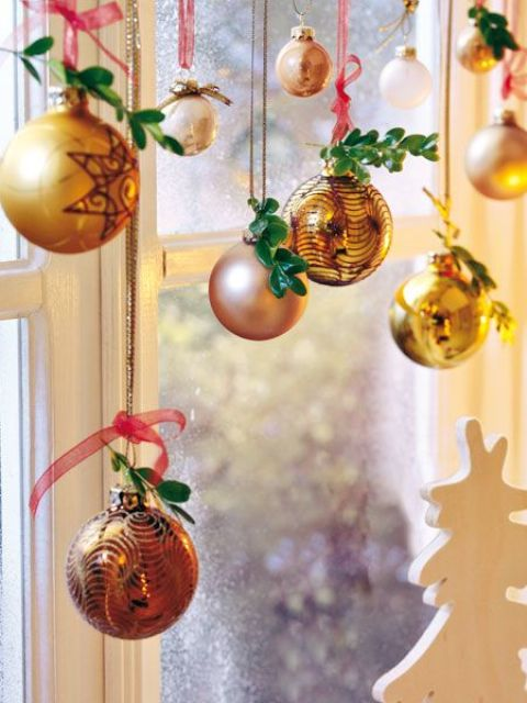 decorarea geamurilor de craciun Christmas window design ideas 12