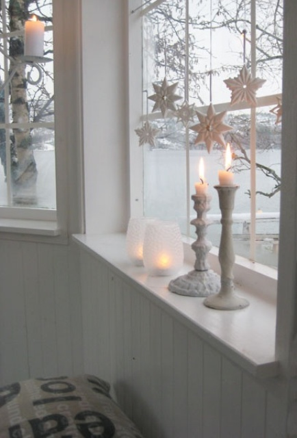decorarea geamurilor de craciun Christmas window design ideas 14
