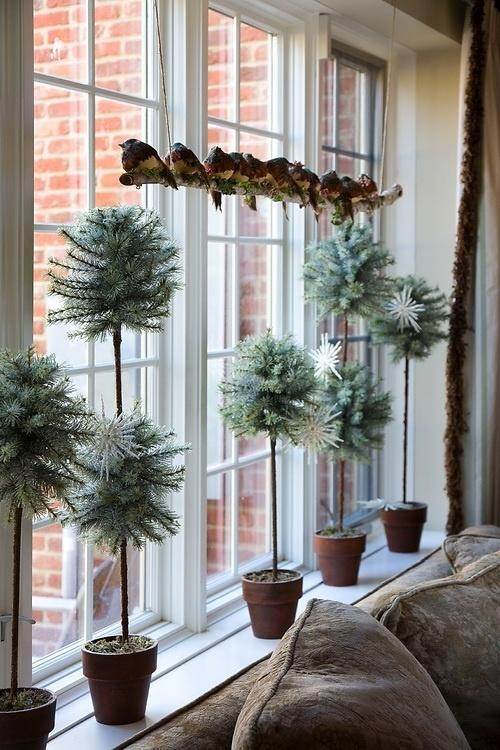 decorarea geamurilor de craciun Christmas window design ideas 21