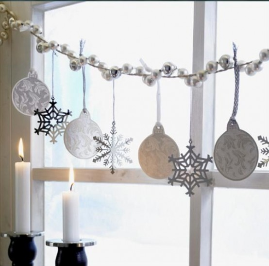 decorarea geamurilor de craciun Christmas window design ideas 23