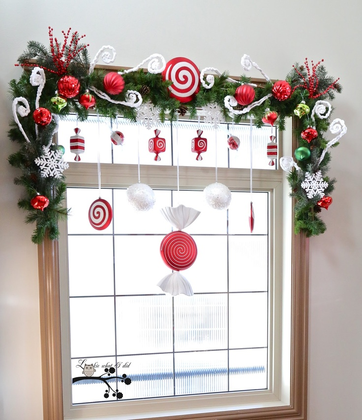 decorarea geamurilor de craciun Christmas window design ideas 3