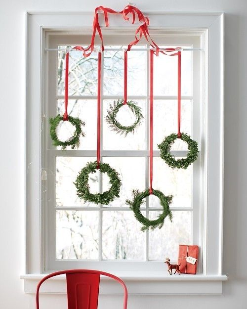 decorarea geamurilor de craciun Christmas window design ideas 5