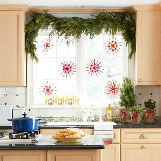 decorarea geamurilor de craciun Christmas window design ideas 6