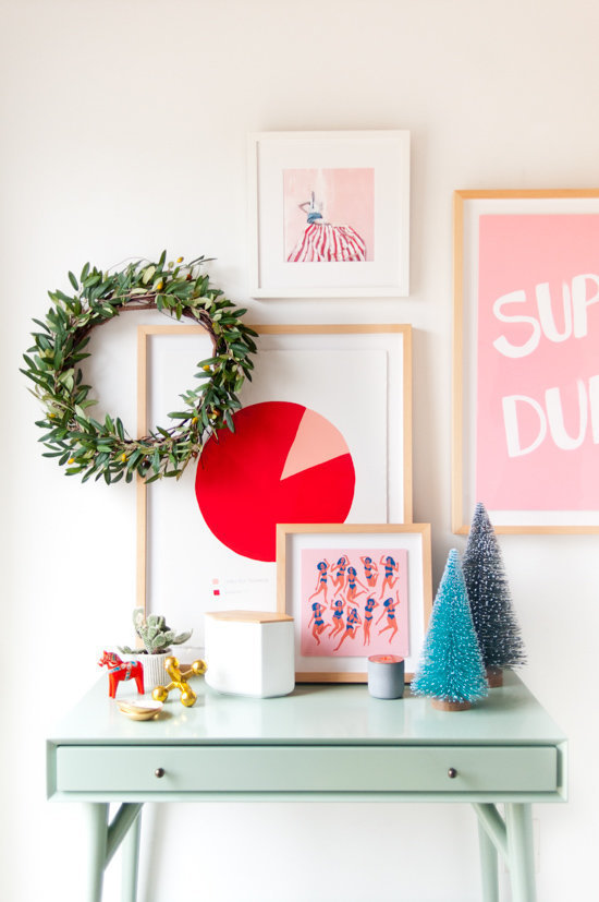 Christmas decorations for small spaces at home