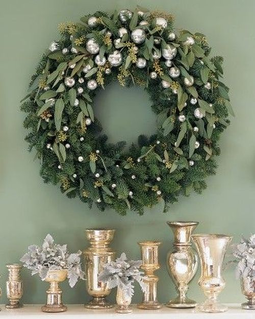 decoratiuni din crengi de brad Christmas fir branches decorations 14