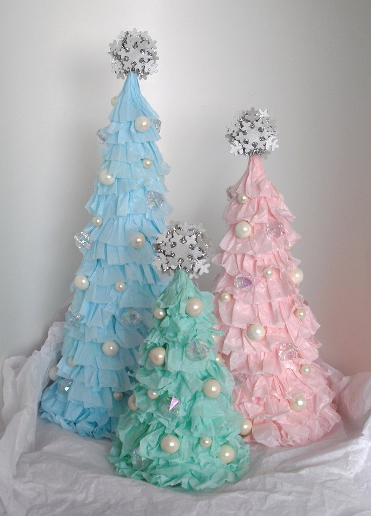 decoratiuni din hartie creponata Crepe paper decorations 8