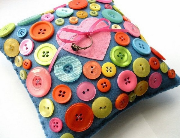 decoratiuni din nasturi Button decorations 12