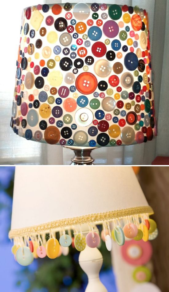 Button decorations for home
