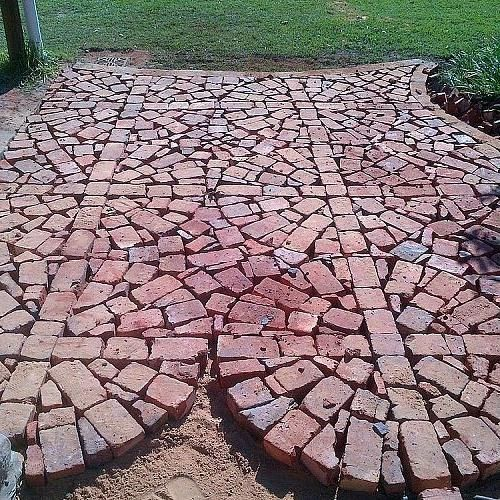 Yard paving design ideas at home