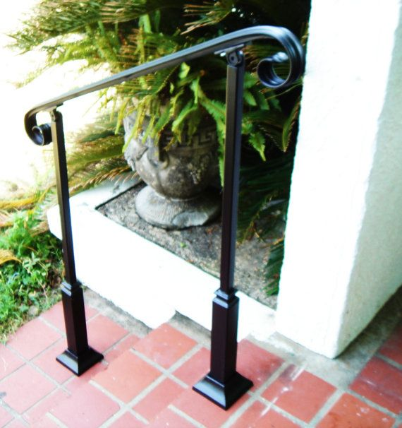 scari exterioare din fier forjat Exterior wrought iron stair railings 3