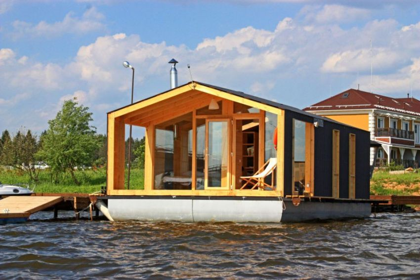 The Floating Modular Home Mobile Solutions From Russia