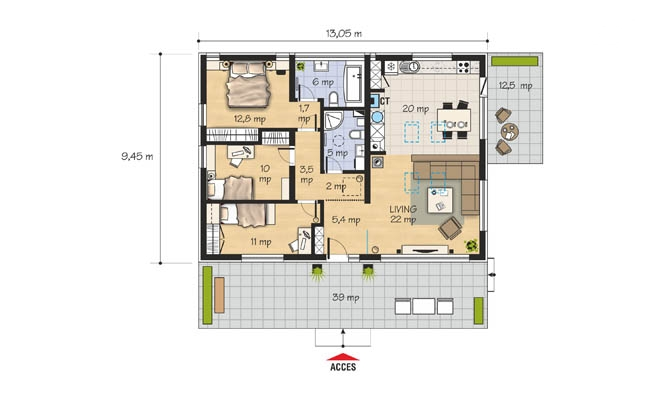 Small Single Level House Plans Matching Your Needs