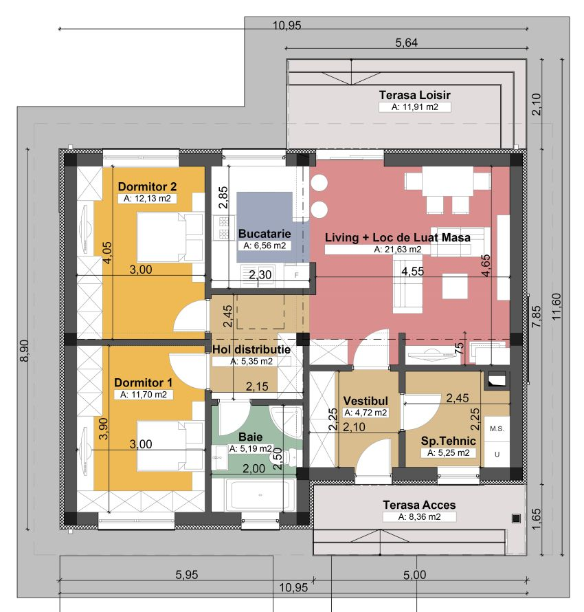 Small single level house plans matching your needs for Small single level house plans
