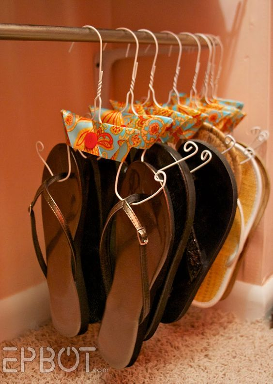 Unusual uses for wire coat hangers at home
