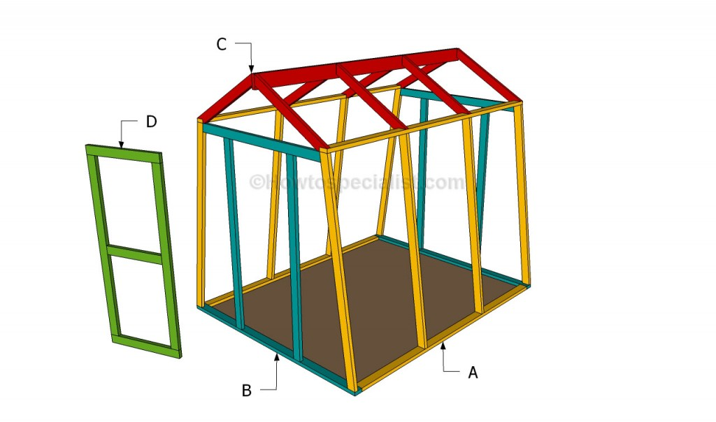 Construirea unui solar din lemn un ghid pe pasi case for How to build a small house step by step