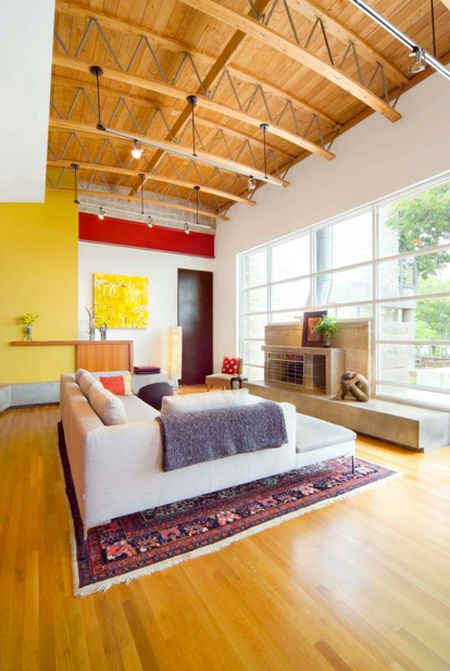 Living room modern colors at home
