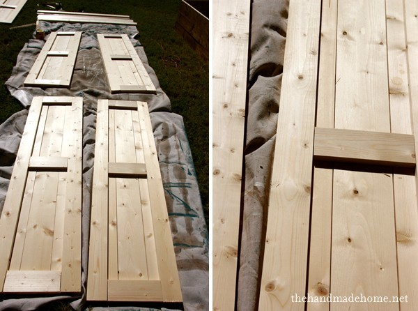 Wood Shutters A Diy Challegenge Houz Buzz