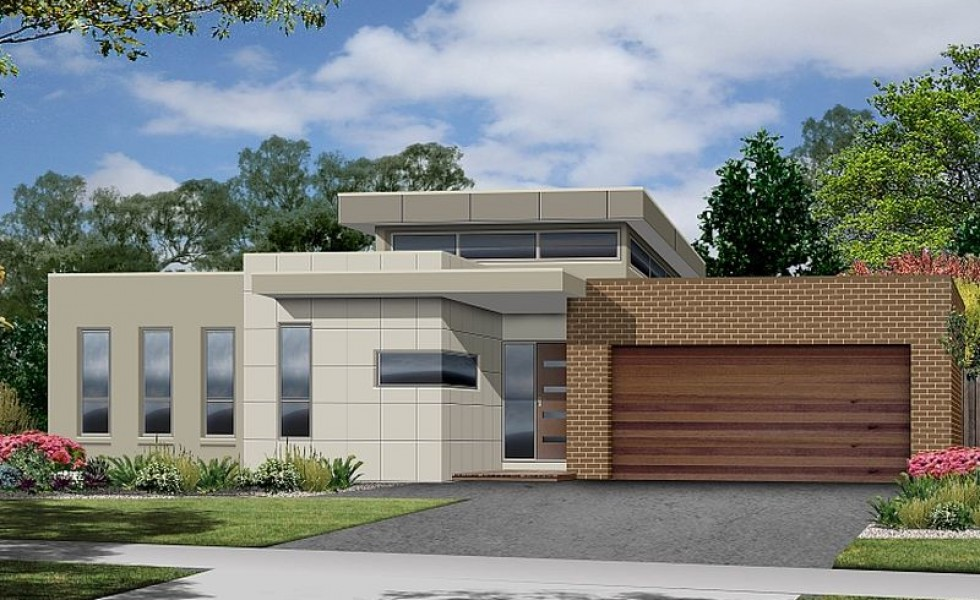 Proiecte de case moderne pe un singur nivel spatii for Contemporary single story home designs