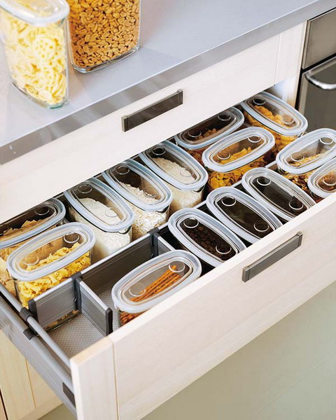 sertare practice de bucatarie Practical kitchen drawers 10