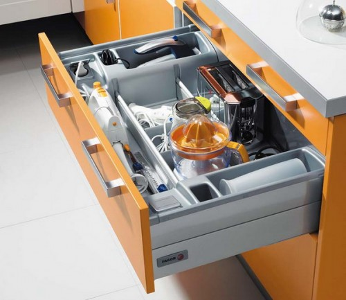 sertare practice de bucatarie Practical kitchen drawers 2