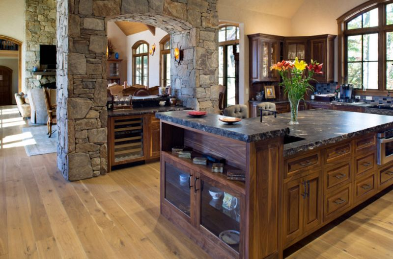 Unei bucatarii in stil rustic rustic style kitchen design ideas 7 jpg