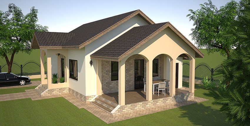 Small single level house plans houz buzz for Proiecte de case mici