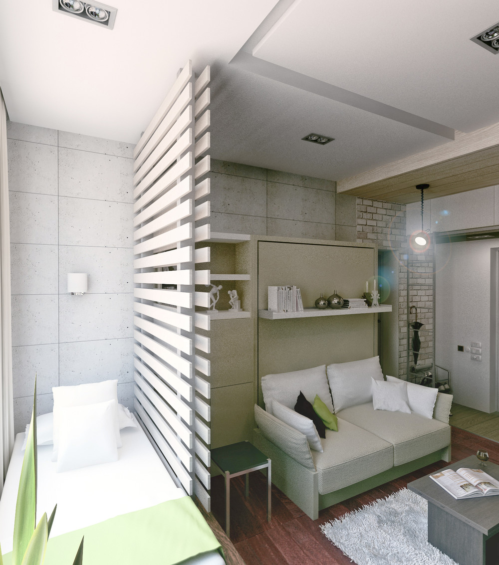 amenajarea unui apartament sub 30 de metri patrati Under 30 square meter apartment design ideas 14