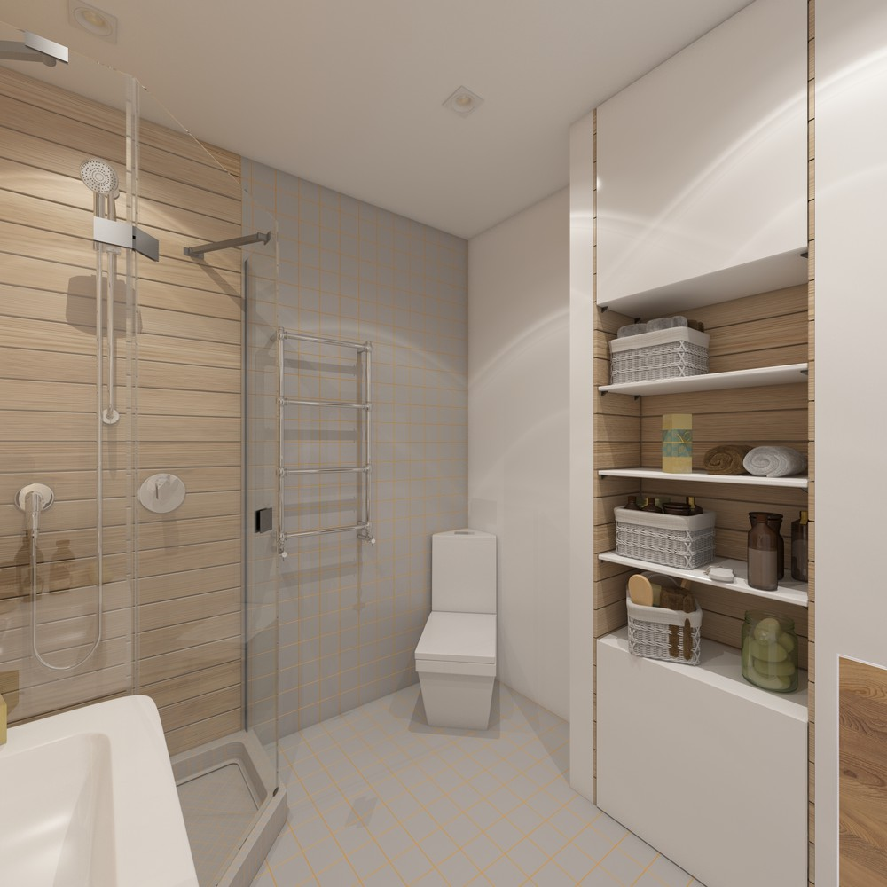 amenajarea unui apartament sub 30 de metri patrati Under 30 square meter apartment design ideas 9