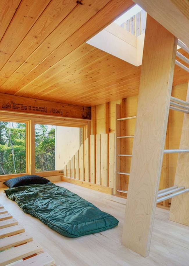 The off-grid cabin for all