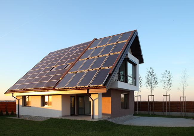case cu consum redus de energie Low energy houses