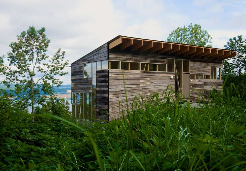 Salvaged wood houses for all