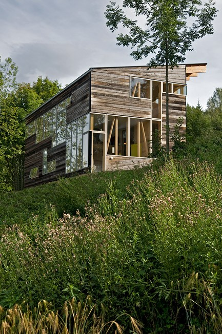case din lemn refolosit Salvaged wood houses 8