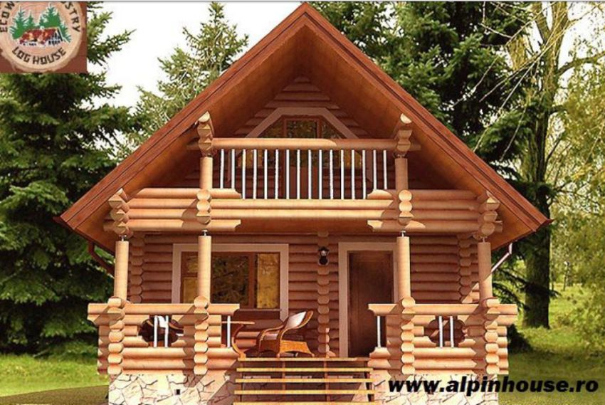 case ieftine din busteni cheap log houses 5
