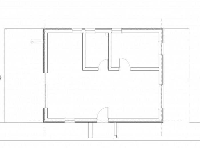 case mici cu un dormitor One bedroom house plans 11