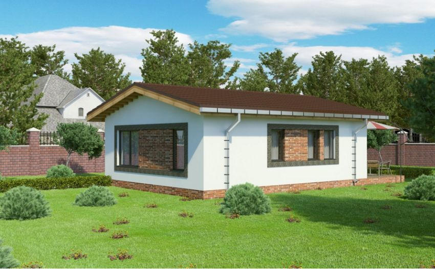 case mici cu un dormitor One bedroom house plans 5