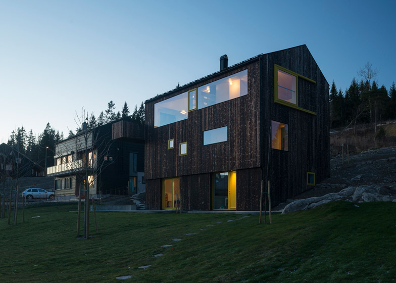 case norvegiene din lemn norwegian wood houses 8