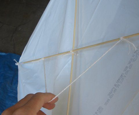 How to make a kite in easy steps