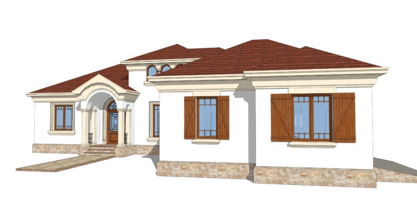 proiecte de case cu arcade arched house plans 10