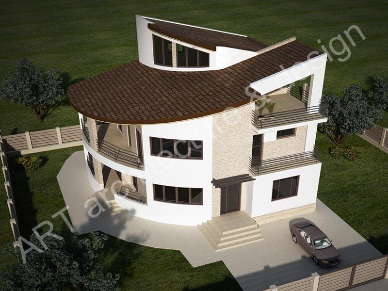proiecte de case cu etaj si mansarda three story house plans 3