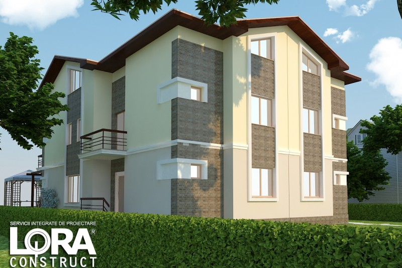 proiecte de case cu etaj si mansarda three story house plans 8