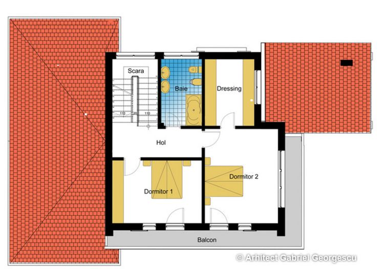 proiecte de case spatioase Spacious house plans 11