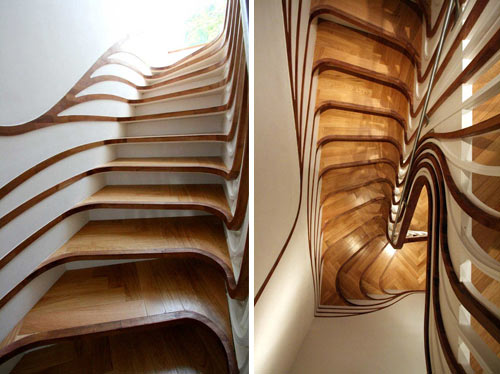scari intrioare pentru case Interior staircase design ideas 21