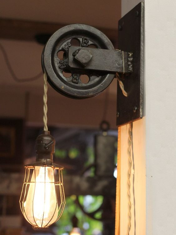 Lighting fixtures at home