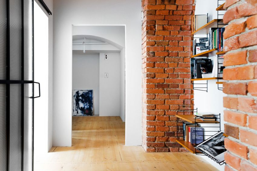The apartment in the warehouse in Poland