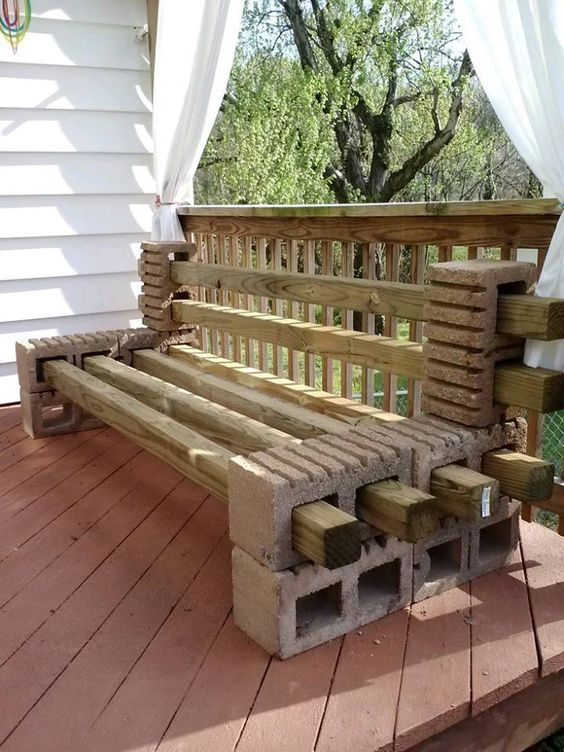 Wooden Bench Ideas Part - 38: Garden Wood Benches Ideas For All