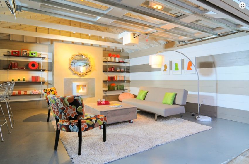 3 impressive garage conversion ideas houz buzz for Garage transformation