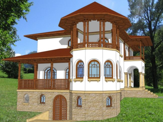 Romanian style tasteful houses for all
